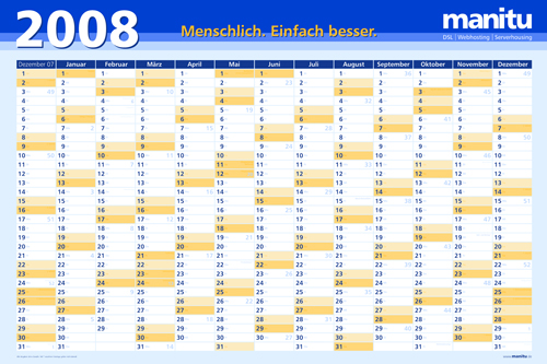 Kalender Vorlage Für Ms Excel 2007 Office Loesungde