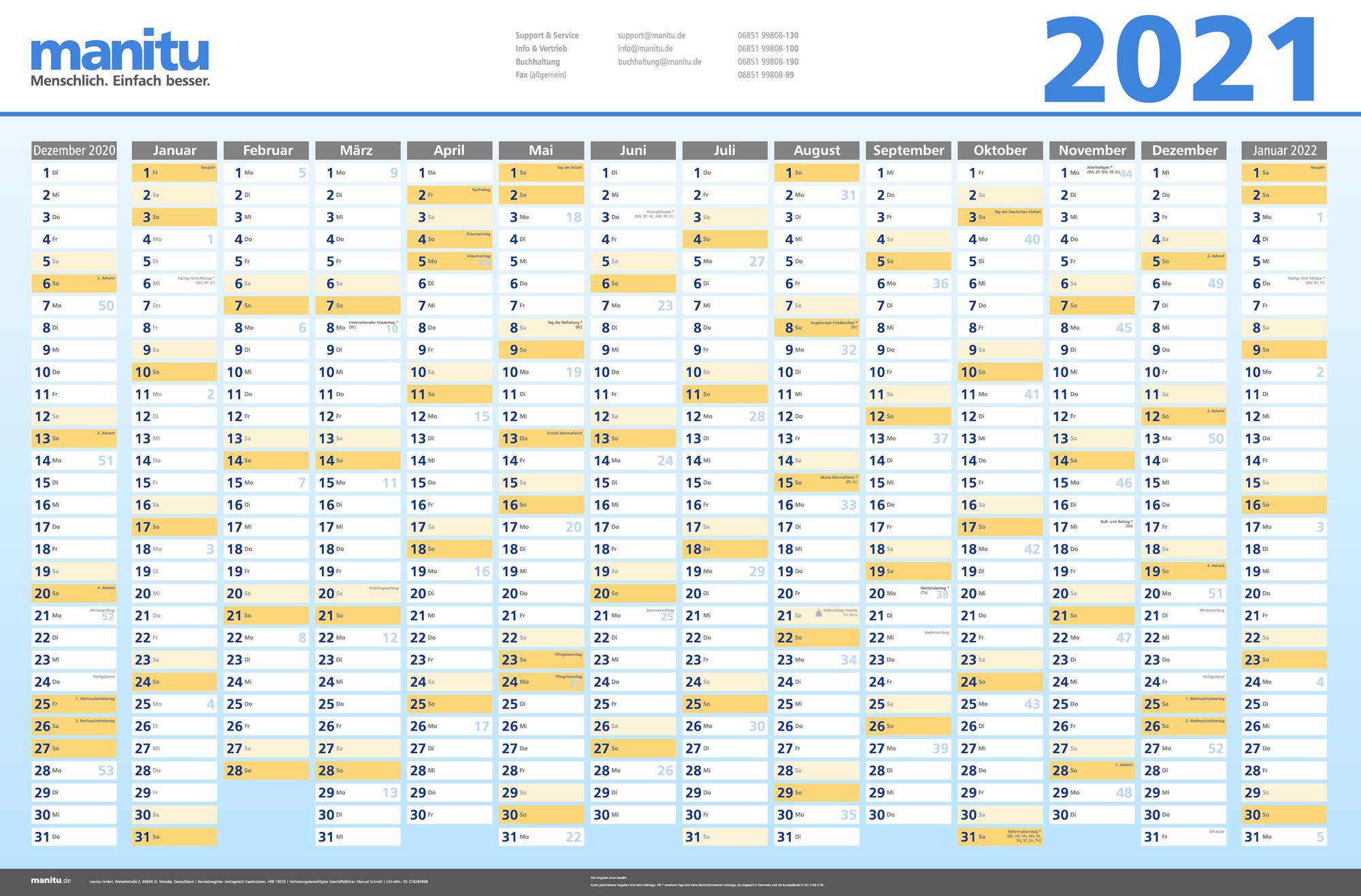 kostenlose kalender für 2021  hostbloggerde
